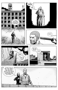 The Walking Dead #143- Alpha leads Rick on
