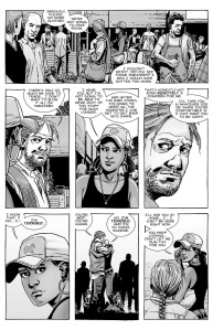 The Walking Dead #143- Eugene and Rosita talk about the baby and their future