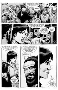 The Walking Dead #143- Jesus and Maggie discuss how to tell Rick about Gregory's execution