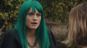 The Western Book of the Dead- Ani's sister, Athena, played by Leven Rambin, argues with Ani about their lives, Ani's problems, and drug use