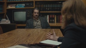 The Western Book of the Dead- Ray interviewed by an attorney, played by Molly Hagan