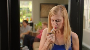 Constant Horror and Bone-Deep Dissatisfaction- Becca smokes a cigarette