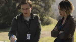 Down Will Come- Ani and Ray meet with an EPA agent, played by Travis Hammer