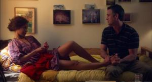 Infinitely Polar Bear- Maggie and Cam in intimate talks