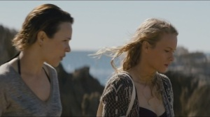Other Lives- Ani and Athena walk on the beach, Ani wants Athena to gain access to a party