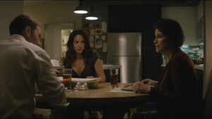 Other Lives- Paul and Emily have dinner with Emily's mother, Irma, played by Saundra Santiago