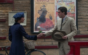 Testament of Youth- Roland and Vera meet at the theatre
