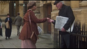 Testament of Youth- Vera gets a paper to learn about the war