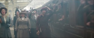 Testament of Youth- Women wave goodbye to the men going off to war
