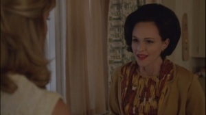 The Excitement of Release- Joy, played by Susan May Pratt, talks with Libby about apartment hunting