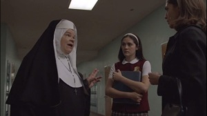 The Excitement of Release- Sister Annabelle, played by Wendy Worthington, informs Virginia about Tessa's behavior