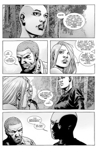 The Walking Dead #144- Alpha discusses rape