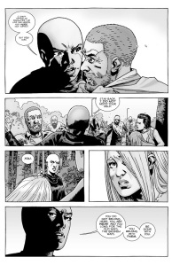 The Walking Dead #144- Alpha tells Rick that he can offer Lydia the life that she needs