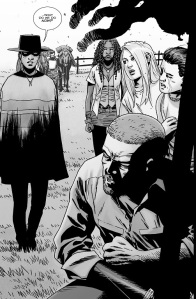 The Walking Dead #144- Andrea to Rick, 'What do we do now'