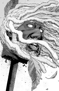 The Walking Dead #144- Ezekiel's head