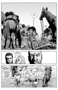 The Walking Dead #144- Rick realizes that something is wrong