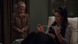 Monkey Business- Betty and Helen discuss pregnancy and sticking a catheter into Helen's cervix