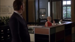 Monkey Business- Betty tells Bill that he will have to deal with Mrs. Fletcher's insemination