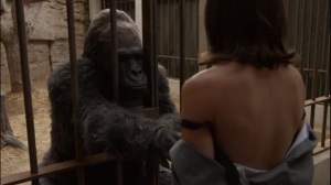 Monkey Business- Gil touches Virginia's breasts