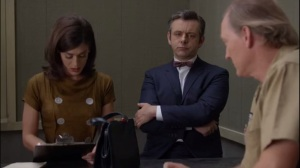 Monkey Business- Virginia asks zookeeper Steven, played by Frank Clem, about the first sexual experience