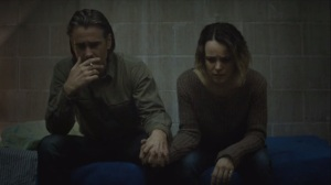 Omega Station- Ray and Ani smoke and hold hands- HBO True Detective