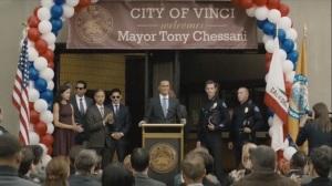 Omega Station- Tony Chessani becomes Mayor of Vinci