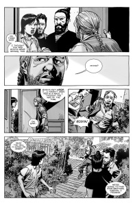 The Walking Dead #145- Maggie checks on Eugene
