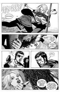 The Walking Dead #145- Michonne accuses Lydia of knowing about the murders