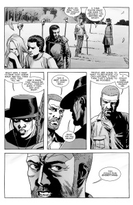 The Walking Dead #145- Rick and Andrea debate how to counter the 12 murders