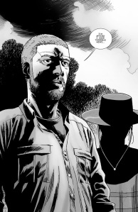 The Walking Dead #145- Rick has terrible news