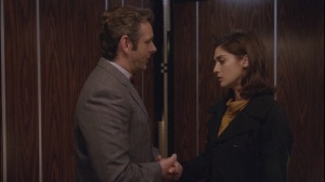 Two Scents- Bill admits his feelings to Virginia in the elevator