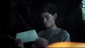 Damned If You Do- Bruce finds a letter from his father