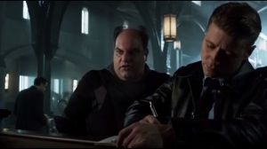 Damned If You Do- Gordon checks Zaardon into GCPD