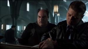Damned If You Do- Gordon checks Zaardon into GCPD