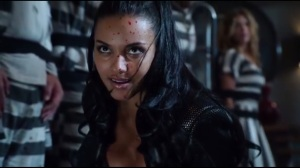 Damned If You Do- Tabitha, played by Jessica Lucas, kills Richard Sionis