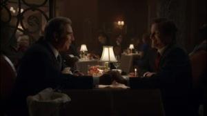 Full Ten Count- Barton and Jonathn at dinner