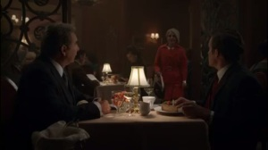 Full Ten Count- Betty interrupts dinner to tell Barton that Bill is in trouble