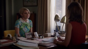 High Anxiety- Betty goes to Virginia to talk about Dan and Bill