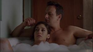 High Anxiety- Dan and Virginia talk while taking a bath
