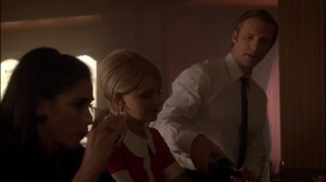 Surrogates- Austin serves drinks to Betty and Helen
