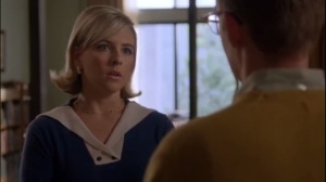 Surrogates- Jane is surprised that Lester is volunteering for the study
