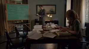Surrogates- Nora continues to study during the break