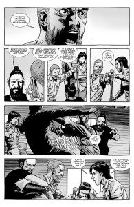 The Walking Dead #146- Rick asks Maggie if she's learned anything