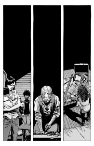 The Walking Dead #146- Silent reactions to bad news