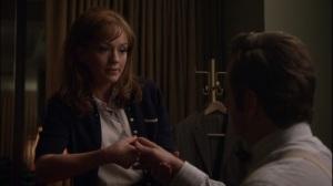 Through a Glass, Darkly- Nora works Bill's finger