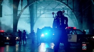 By Fire- Bridgit surrounded by the police
