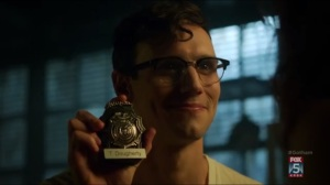 By Fire- Nygma has Dougherty's badge