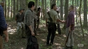 First Time Again- Carter admits that Rick was right about the plan
