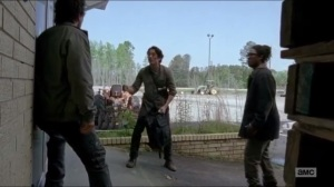 First Time Again- Glenn explains to Nicholas how he'll draw out the walkers