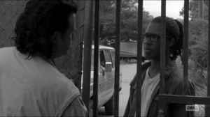 First Time Again- Heath, played by Corey Hawkins, returns to the Safe Zone